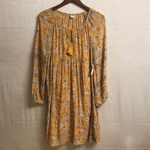 New Old Navy Long Sleeve Floral Dress Size Large